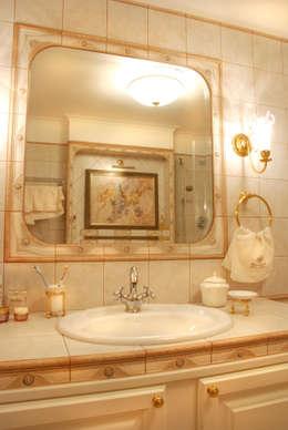 Цвета чайной розы: Ванные комнаты в . Автор – D&T Architects