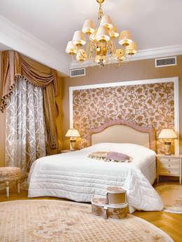 Цвета чайной розы: Спальни в . Автор – D&T Architects