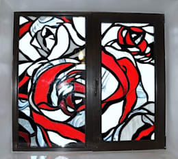 Windows & doors  by Витражная мастерская 'Гранат'