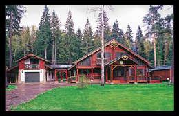 D&T Architects: kırsal tarz tarz Evler