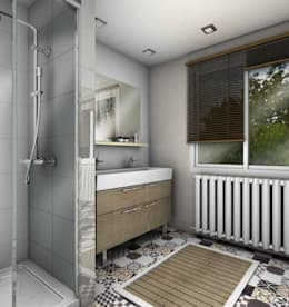 PYXIS Home Design의  화장실