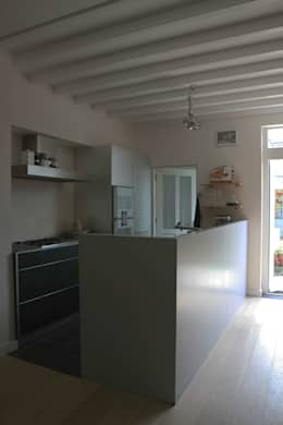 keuken:   door PIER architecten