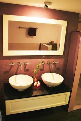 badkamer:   door PIER architecten