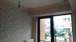 art tasarım – Duvar Master: modern tarz Oturma Odası
