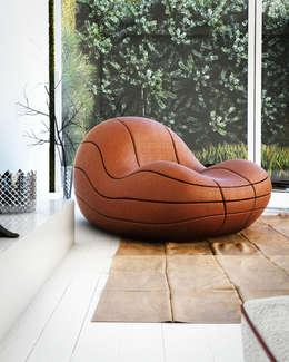eclectic Living room by Mula Preta