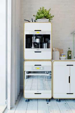 廚房 by Anton Medvedev Interiors