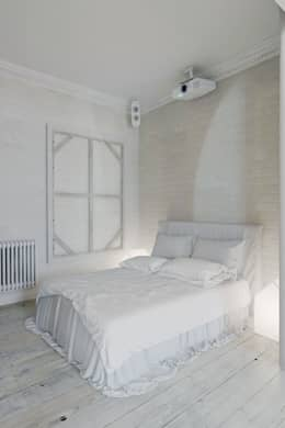 eclectic Bedroom by Anton Medvedev Interiors