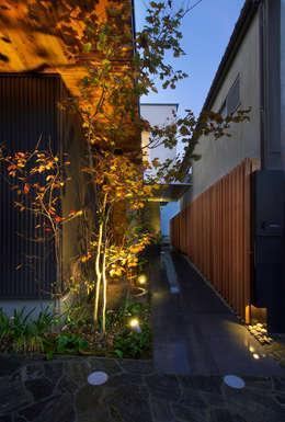 Jardines de estilo moderno por GREENSPACE