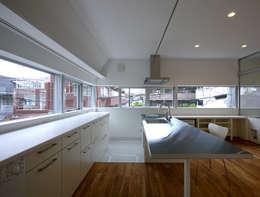 تنفيذ アトリエハコ建築設計事務所/atelier HAKO architects