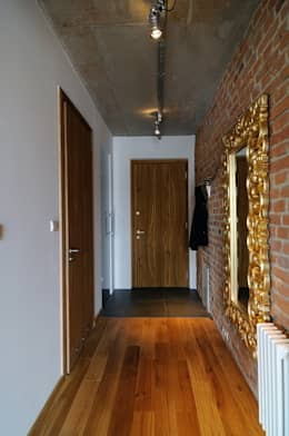Loft w młynie.: styl , w kategorii Korytarz, przedpokój zaprojektowany przez ARTEMA  PRACOWANIA ARCHITEKTURY  WNĘTRZ