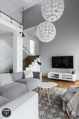 Livings de estilo escandinavo por stabrawa.pl
