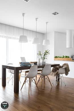 scandinavian Dining room by stabrawa.pl