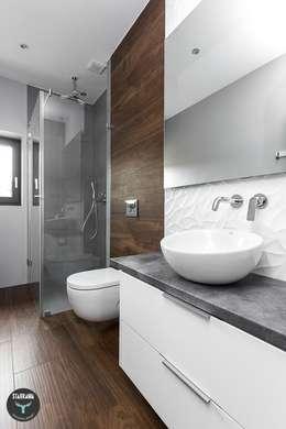 scandinavian Bathroom by stabrawa.pl