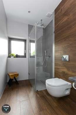 Ванные комнаты в . Автор – stabrawa.pl