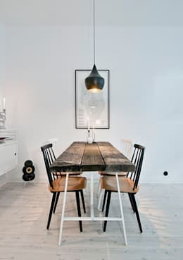 rustic Dining room by 99chairs
