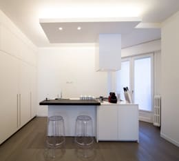 minimalistic Kitchen by ristrutturami