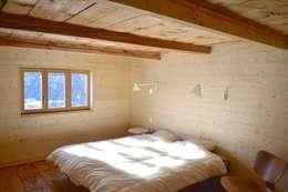 Projekty,  Sypialnia zaprojektowane przez André Rösch Architekt