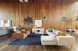 Herman Miller México: modern tarz Oturma Odası