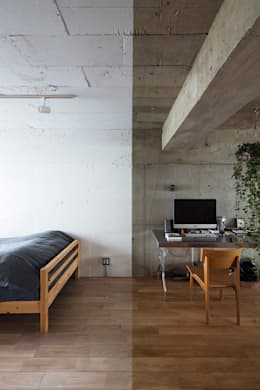 جدران تنفيذ 松島潤平建築設計事務所 / JP architects
