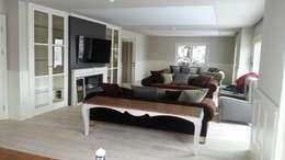 rustic Living room by teknogrup design