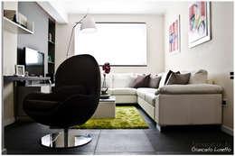 Salas de estilo moderno por Ignazio Buscio Architetto