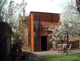 Casas modernas por SARL BOURILLET ET ASSOCIES