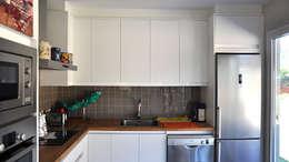 Projekty,  Kuchnia zaprojektowane przez Casas Cube
