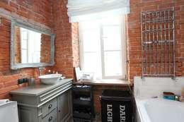 Ванные комнаты в . Автор – livinghome wnętrza Katarzyna Sybilska