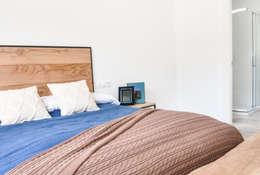 Casas Cube: modern tarz Yatak Odası