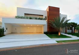 Projekty, nowoczesne Domy zaprojektowane przez Studio Gilson Barbosa