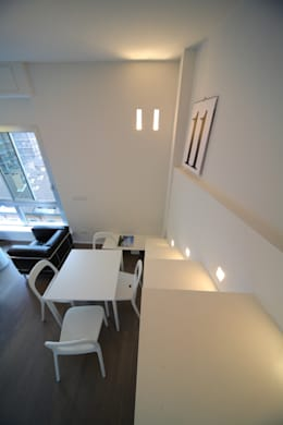 ristrutturami: minimal tarz tarz Oturma Odası