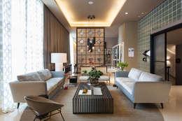 Гостиная в . Автор – Denise Barretto Arquitetura