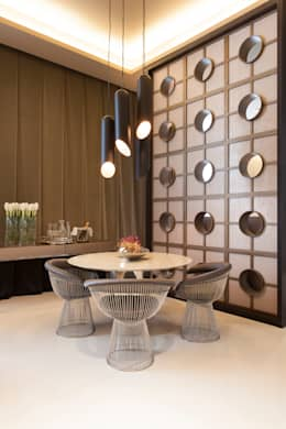 modern Dining room by Denise Barretto Arquitetura
