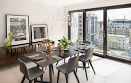 modern Dining room by The Manser Practice Architects + Designers