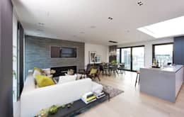 modern Living room by The Manser Practice Architects + Designers