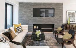 غرفة المعيشة تنفيذ The Manser Practice Architects + Designers