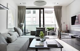 Livings de estilo moderno por The Manser Practice Architects + Designers