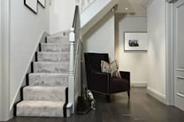 Upper Park, Loughton: modern Corridor, hallway & stairs by Boscolo