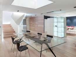 Projekty,  Jadalnia zaprojektowane przez Burnazzi  Feltrin  Architects