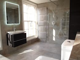 Exquisite Shower Room: classic Bathroom by DeVal Bathrooms