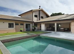 rustic Pool by Cria Arquitetura