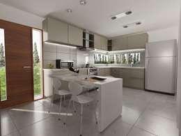 آشپزخانه by Chazarreta-Tohus-Almendra