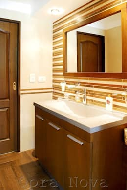 Baño PB: Baños de estilo moderno por Opra Nova