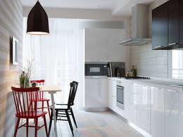 Интерьер квартиры для молодого человека: Кухни в . Автор – Оксана Мухина