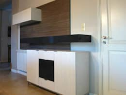 Proyectos de interiores varios: Livings de estilo moderno por ZYX estudio