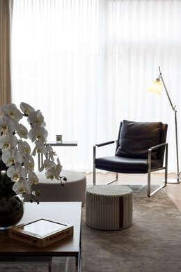 modern Living room تنفيذ HC Interiors