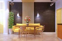 modern Kitchen by Студия интерьерного дизайна happy.design