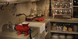 rustic Kitchen by Bórmida & Yanzón arquitectos