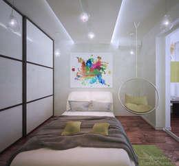 modern Nursery/kid's room by Студия интерьерного дизайна happy.design
