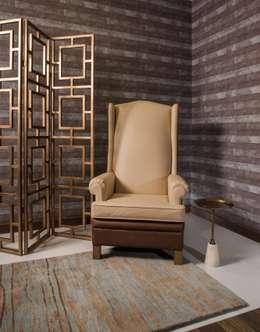 Vestíbulos, pasillos y escaleras de estilo  por UNUO Interiorismo